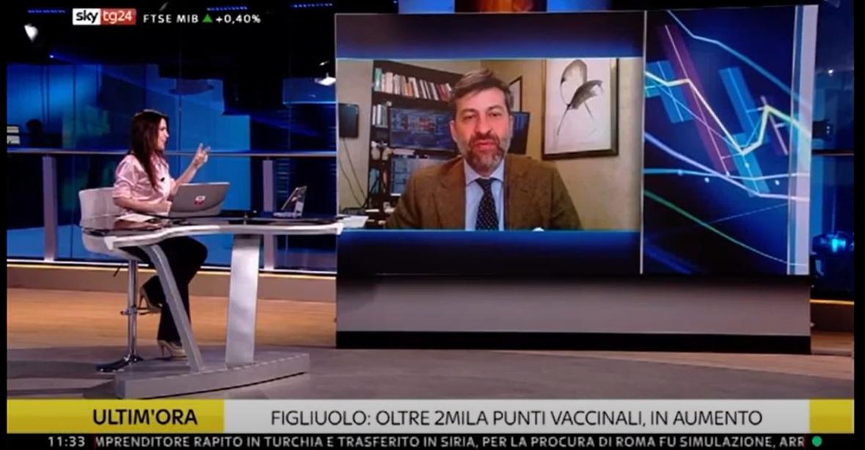 30/03/2021 - Intervista SKYTG24 Carlo De Luca